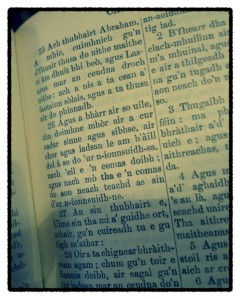 The Bible in Gaelic