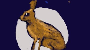 Mooning Hare